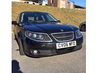Black Saab 9-5 1.9 Tid Vector Estate
