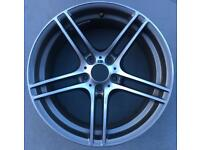 GENUINE BMW 3 SERIES 19 INCH SINGLE 313 FRONT ALLOY USED.