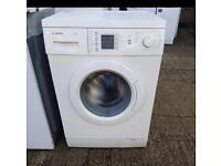 7KG BOSCH EXXCEL WASHING MACHINE , LED DISPLAY ,EXCELLENT CONDITION, FREE INSTALLATION