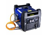 BRAND NEW still in box Hyundai 3600w petrol generator with lpg conversion kit