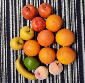 Realistic fake fruit