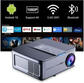 NEW Artlii Play 3 Smart Projector 4K Support Android 10 HD Native 1080p Projector 340 ANSI 5G Wifi