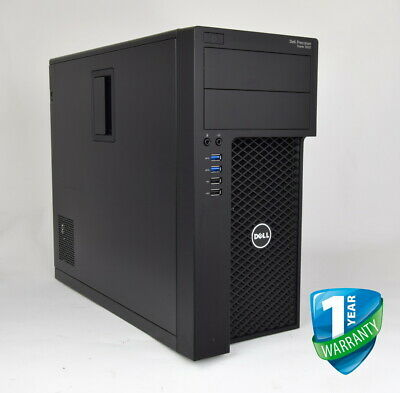 Dell Precision 3620 Workstation Intel Core Xeon E3 V5 16GB 32GB 256GB SSD