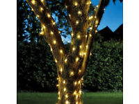 200 LED Solar Copper Wire String Lights - Warm White Lenght 21.9m
