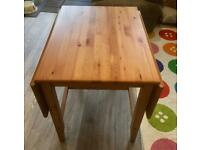 Drop Leaf Dining Table & Chairs