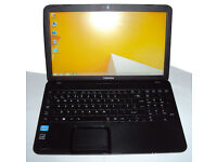 Toshiba core i3 laptop with S S D very fast but USB faulty