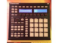 NATIVE INSTRUMENTS Maschine MK2 with latest software/ 9x official expansions/desktop and snare stand
