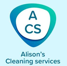 Alison's cleaning services