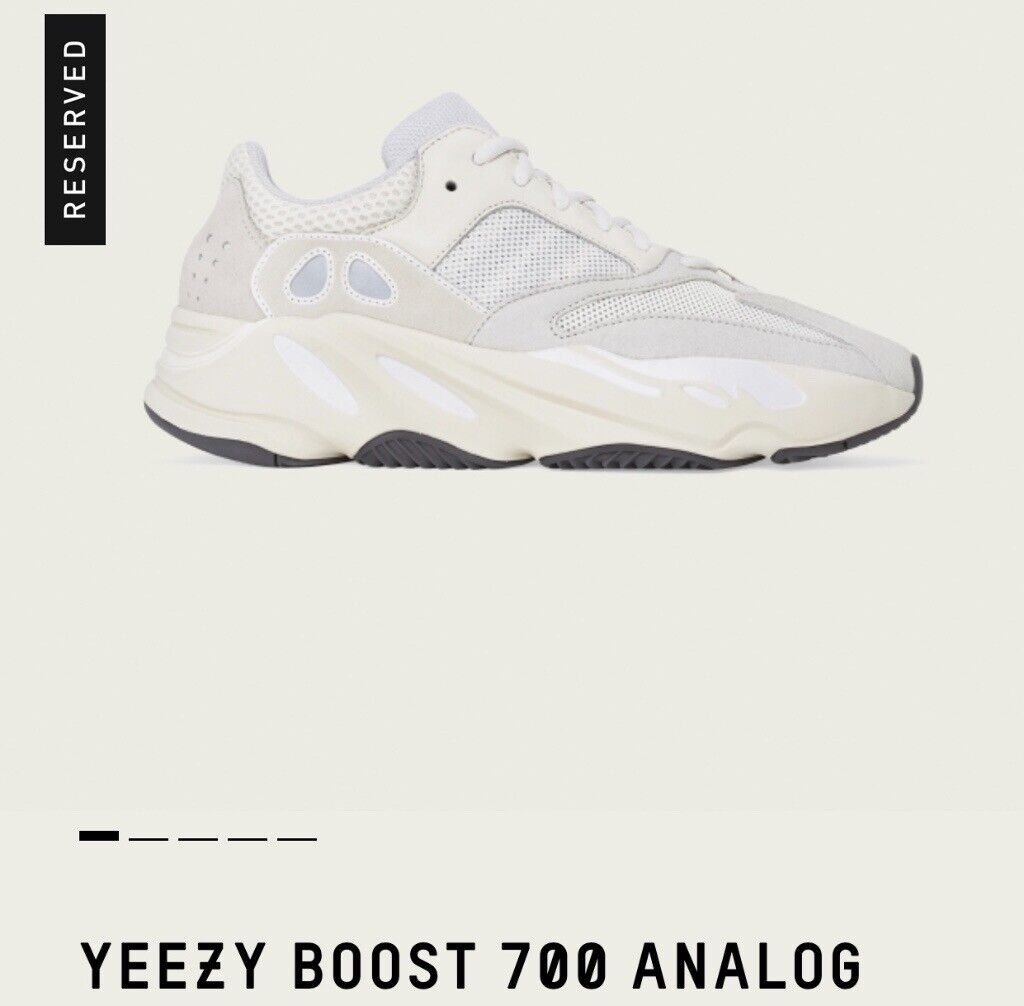 a90a80bae37a9 Yeezy Boost 700 Analog UK10 CONFIRMED