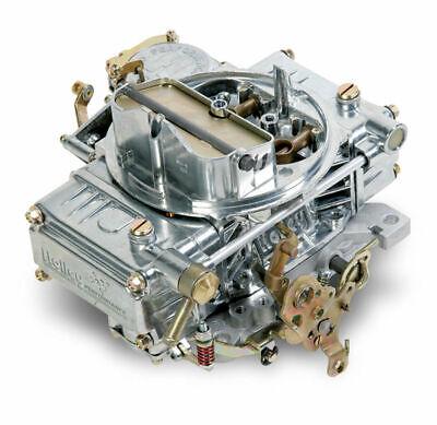 Holley 600CFM Street Warrior Carburetor 4160 Manual Choke Vacuum Second 0-1850S