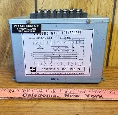Scientific Columbus Dl34-2k5-a2 Transducer