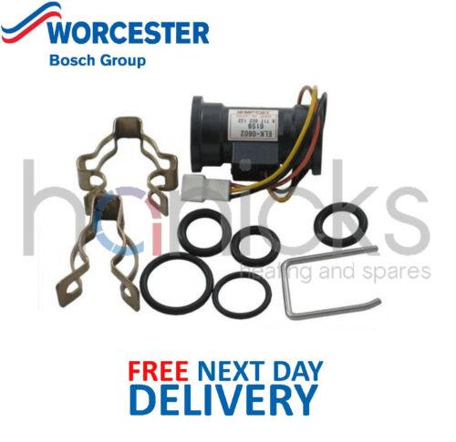 Worcester Bosch Flow Sensor Assembly 87161157540 87161072230 Genuine Part NEW