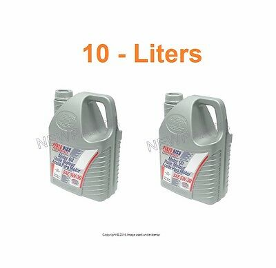 10 Liters 2-5L Pento High Performance II 5w30 Synthetic Engine Motor Oil For BMW