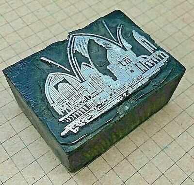 Church Architecture Letterpress Printer Block Kelsey Printing Press