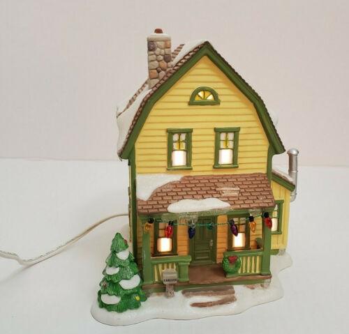 Department Dept 56 Christmas Story Village Farcus House Light Up Farkus