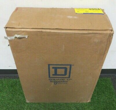 Square D D325nr Fusible Safety Switch 400amp Series E01 3ph 240vac 5060hz