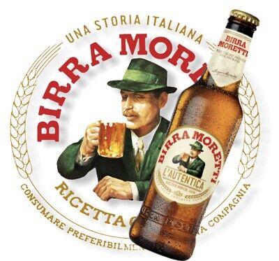 12x Birra Moretti, das Original aus Italien in der 0,33 l Flasche...