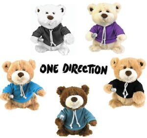 One Direction Bears on Tour Bear - Assorted, Singing Dancing Kid Plush Soft Toy