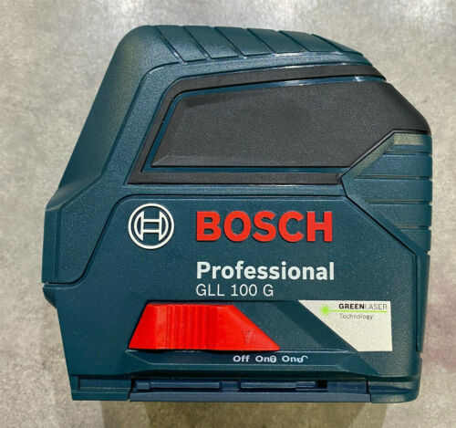 Bosch Power Tools GLL 100 G Green-Beam Self-Leveling Laser Level