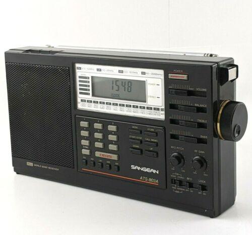Sangean ATS-803A PLL World Band Receiver
