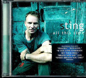 All This Time by Sting (CD, Nov-2001, A&M (USA)) SEALED BRAND NEW