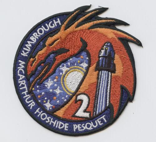Space-X Crew 2 AB EMBLEM NASA PATCH