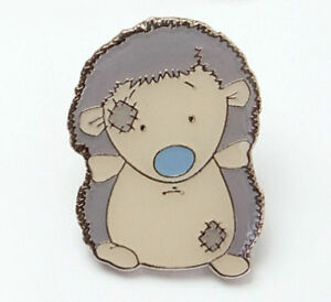 Me To You Blue Nose Friends Collectors Pin Badge - Konker the Hedgehog