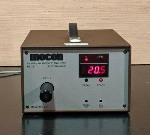 Mocon HS750 Oxygen Headspace Analyzer 001-344 / Auto-Ranging / 30 DAY GUARANTEE