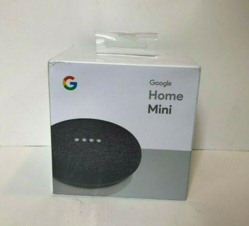 Google Home Mini Smart Assistant - Charcoal (GA00216-US) Brand New Sealed