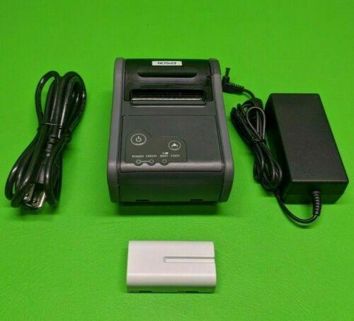 Epson Mobile Bluetooth Thermal Receipt Printer TM-P60 M196B w/ Battery
