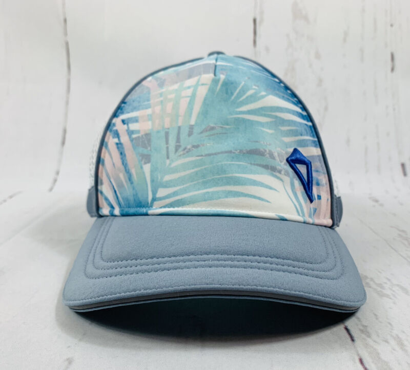NWT Girls Ivivva By Lululemon Sun's Out Hat Cap XS/S PBCH/WHT/CHBY
