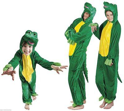 Krokodil Schnappi Drachen Kostüm Overall Plüsch Dino Monster Dinosaurier - Plüsch Drachen Kostüm