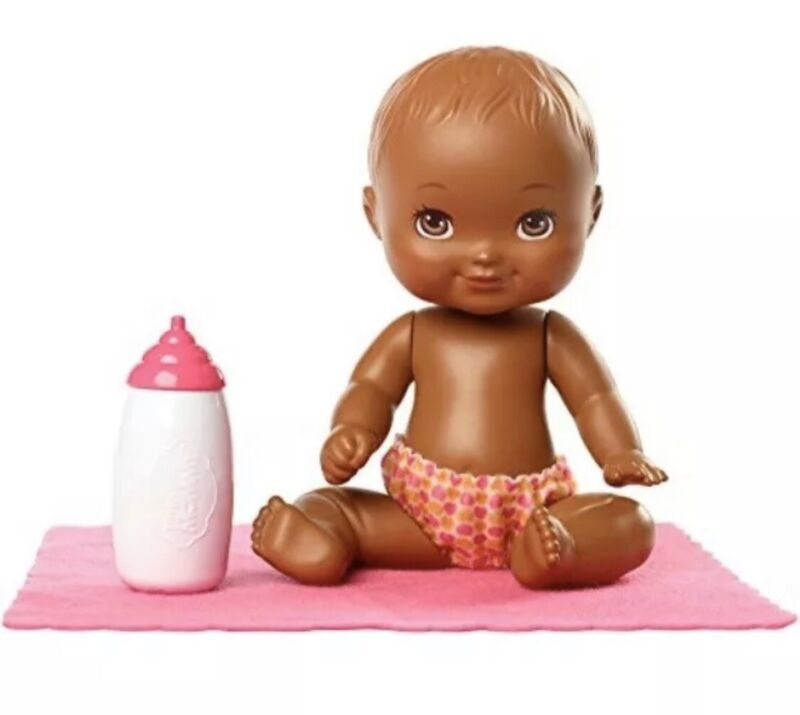 Fisher Price Little Mommy Mini Baby Doll With Pink Blanket NEW