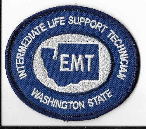 Washington State Intermediate Life Support Technician (EMT) Patch