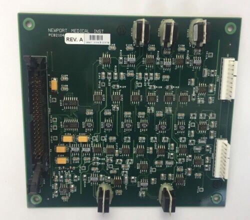 Medtronic Covidien Newport e360 Ventilator Analog Board PCB2104A Outright