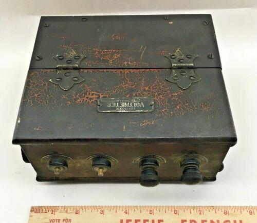 Antique/Vintage HICKOK ELECTRIC VOLTMETER BOX