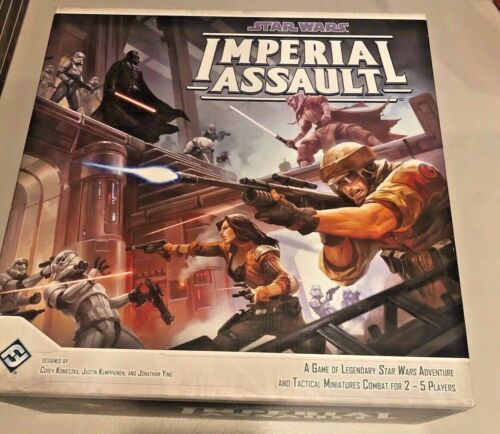 Imperial Assault complete core game - some painted figures - Everything present