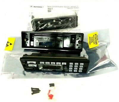 Genuine Motorola Mhln6563h Astro Spectra Control Head Kit Radio Board Dash Mount