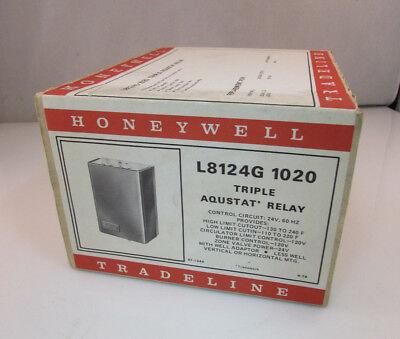 Honeywell L8124g 1020 Triple Aquastat Relay