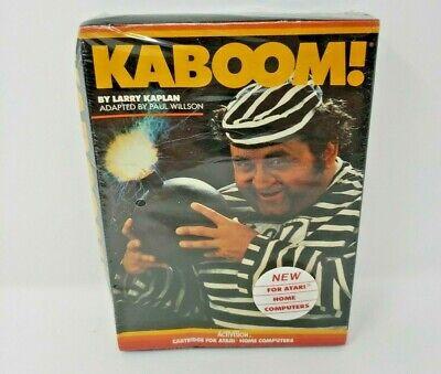 Kaboom! Atari Home Computer PC rArE New Sealed Excellent Activision HTF NIB 2600