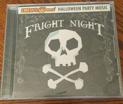 NEW Fright Night Halloween Party Music, Drew's Famous CD, RARE, Fast FREE - Halloween Fright Night Cd
