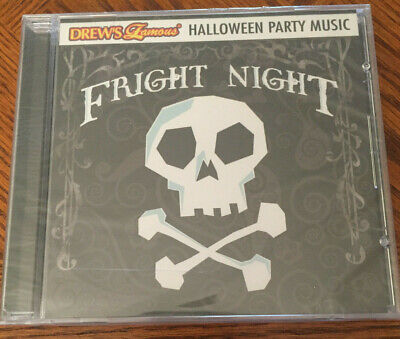 NEW Fright Night Halloween Party Music, Drew's Famous CD, RARE, Fast FREE Ship](Halloween Fright Night Cd)