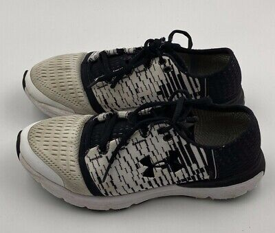 Men's Under Armour Shoes US 7.5 Black and White Pre-Owned