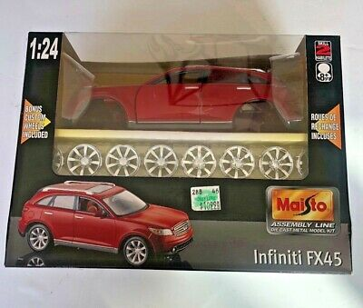 Maisto Infiniti FX45  1/24 scale Diecast model Bonus custom Wheels FS