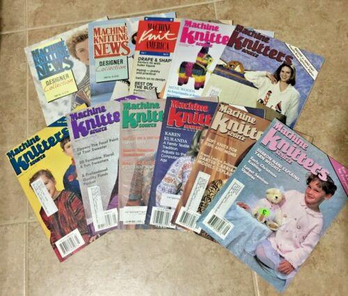 Vintage Machine Knitters source magazines set of 11