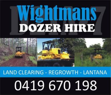 WIGHTMAN'S DOZER HIRE Woodford Moreton Area Preview