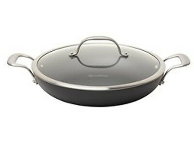 Anodized 12 Inch Everyday Pan - New. Chefs Hard Anodized Aluminum Nonstick 12 Inch Everyday Pan With Lid