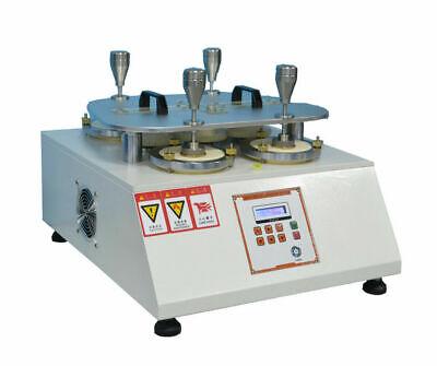 Martindale Abrasion Testing Machine Fabric Abrasion Pilling Degree Tester 220v
