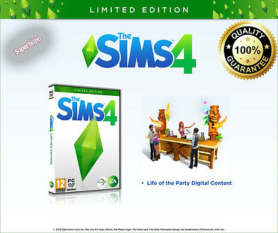 Best Sale  The Sims 4 Limited Edition  Origin  Full Game Download Pc Mac