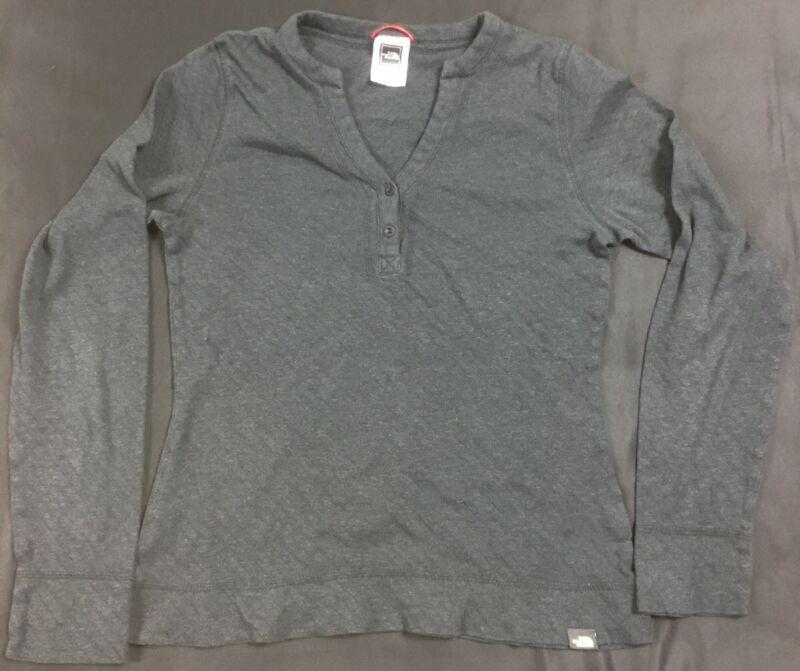 The North Face Quarter Button Up Long Sleeve Shirt Women